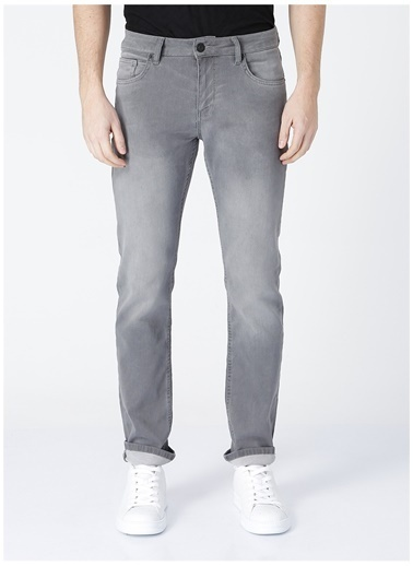 Fabrika Fabrika Elon Gri Erkek Denim Pantolon Gri